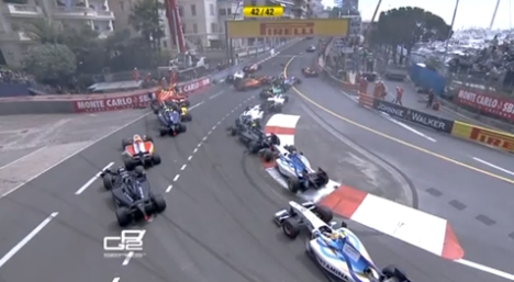 GP2 accimonaco